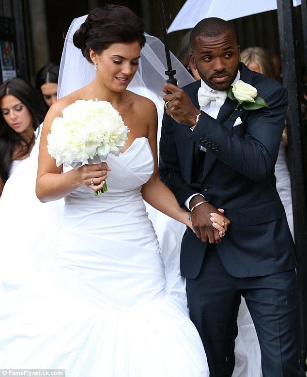 Footballer Darren Bent Weds Model Kirsty Maclaren Kaycee