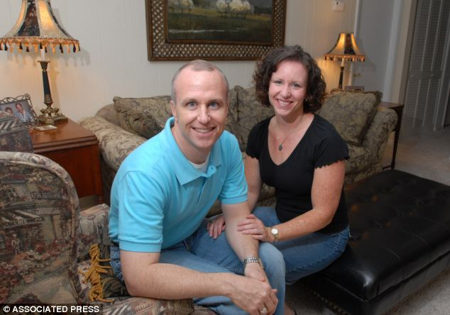 Alan Chambers, president of Exodus International, with his wife, Leslie