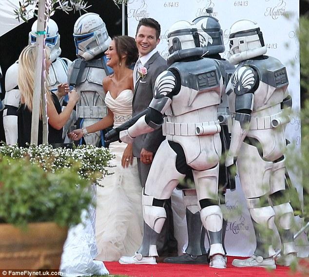 Matt Lanters Star Wars Inspired Wedding To Angela Stacy