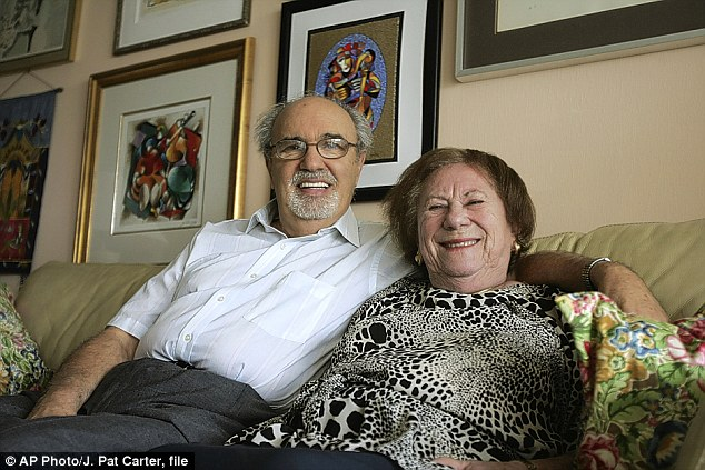 Herman Rosenblat told Oprah Winfrey that he met his wife when she threw him fruit over a camp fence