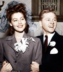 Image result for ava gardner and mickey rooney pictures
