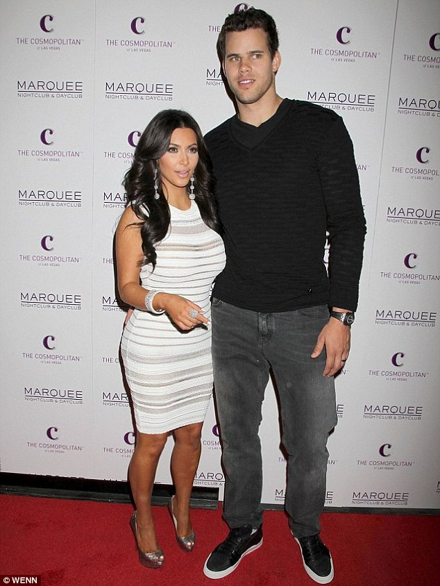 Former flame: Kim's divorce from Kris Humphries was finalised earlier this month