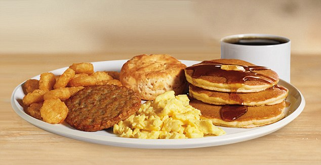 Burger King's Ultimate breakfast platter is loaded with 1,450 calories