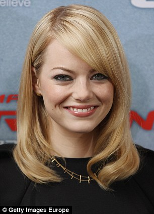 Emma Stone makes the list for the first time, debuting at 84