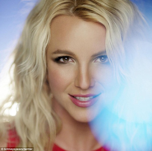 Behind the scenes: On Thursday, Britney Spears shared a single image from the music video for Ooh La La, a song that will be feature in The Smurfs 2