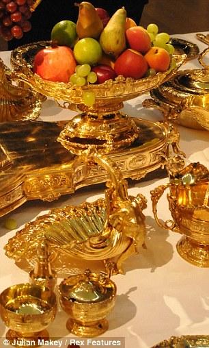 The Maharaja Of Patiala's banqueting service