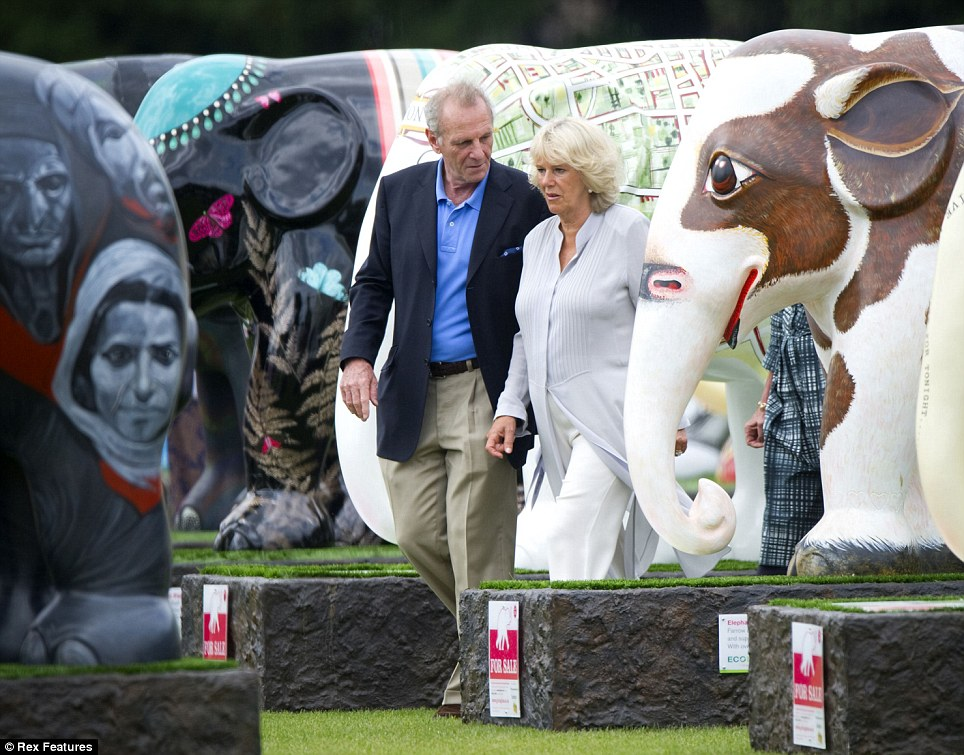 Mark Shand and his sister, The Duchess of Cornwall. He warns that we are close to losing the amazing Asian elephant