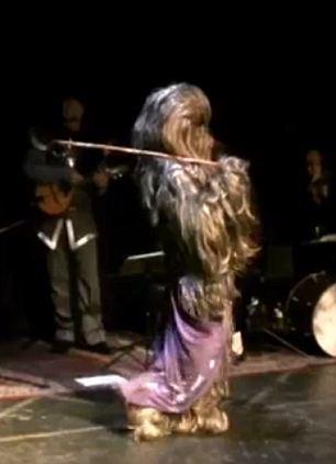 When Star Wars meets Star Trek Female Wookiee belly