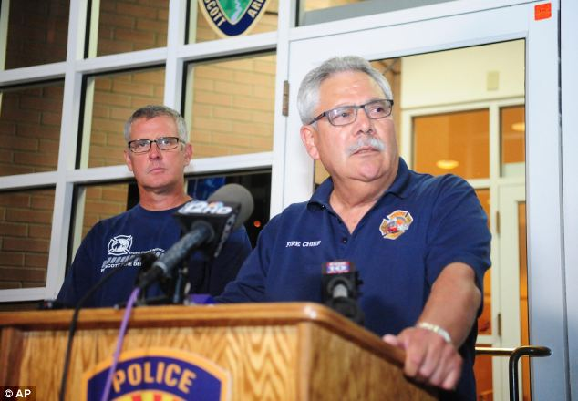 Heartbroken: Prescott Fire Chief Dan Fraijo said the firefighters were 'the people you'll ever meet'