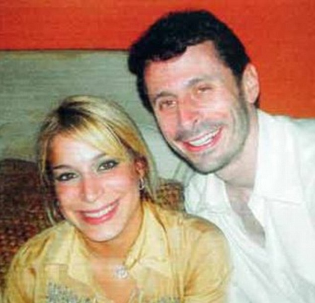 Caught: Aurea Vazquez Rijos, left, accused of hiring a hit man to kill her wealthy Canadian husband, Adam Anhang, right, was arrested Sunday by police in Spain after being sought for five years