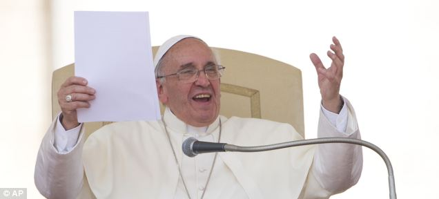 Wild card: While a bishop in Argentina, Pope Francis advocated for the idea of accepting gay civil unions. But more recently, he cautioned French Catholics against accepting gay marriages, calling them 'fashions and ideas of the moment'