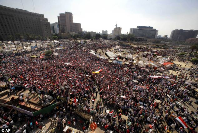 A coup would mean ousting a democratically elected president, the first in Egypt's history