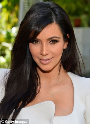 Covering up: Spiers says men take women who look like Kim Kardashian less seriously