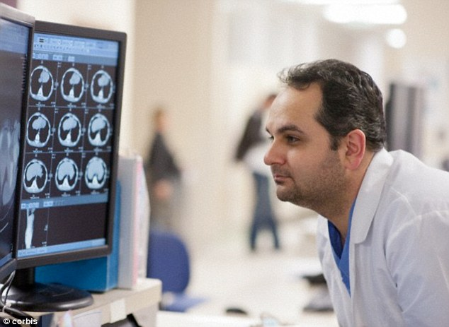 Possible cause: The 67-year-old, only known as PH, only started suffering the symptoms after undergoing surgery. Scans show he has two lesions in the areas of the brain which play a role in hearing, timing and movement (stock image)