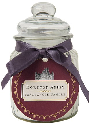 Downton Abbey Fragranced Candle