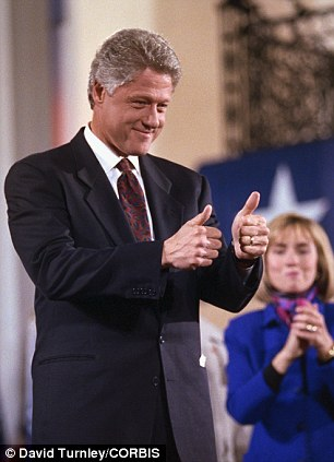 Presidential candidate Bill Clinton, in 1992