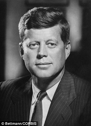 President John F. Kennedy, in 1961