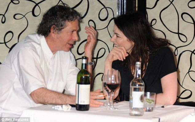 Couple: Charles Saatchi and Nigella Lawson dining outside Scott's restaurant in 2009