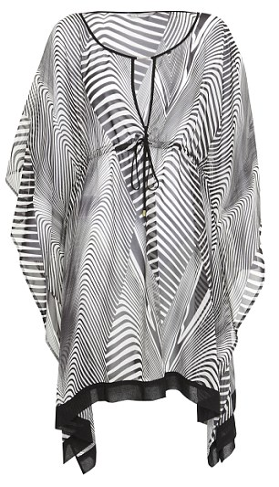 Zebra-print kaftan (marksandspencer.com)
