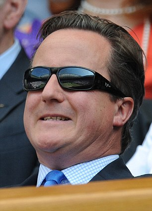 Cameron is a keen tennis fan but some feared he was jinxing UK tennis hopefuls