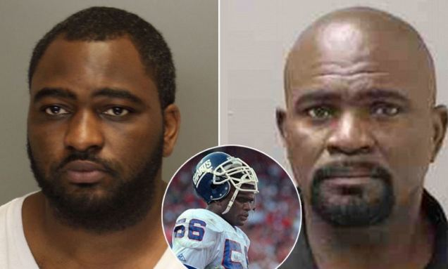 Lawrence Taylor's SON arrested for statutory rape and sodomy less than three years after his father