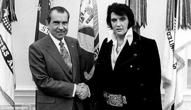 President Reagan's meeting with Michael Jackson had peculiar echoes of a meeting that took place at the White House in 1970 between President Nixon and Elvis Presley
