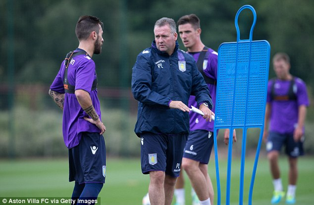 Disappointed: Paul Lambert says he wanted Benteke to stay at the club