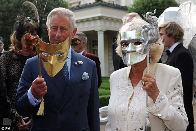 Image result for Charles Camilla Mask