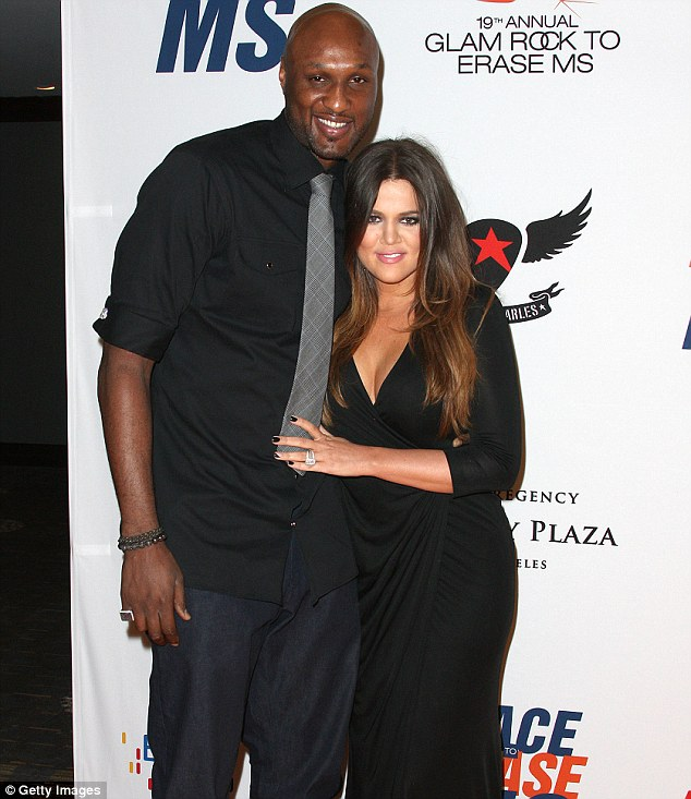 Lamar Odom and Khole Kardashian