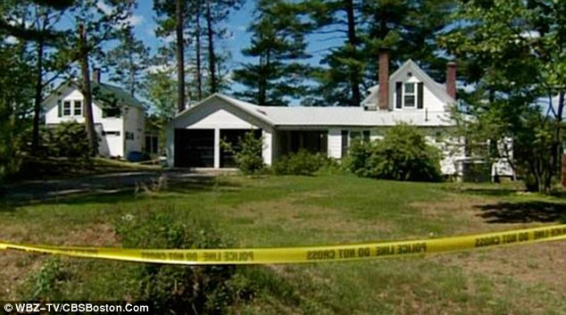 The mutilated bodies of 59-year-old Priscilla Carter and her son, 39-year-old Timothy Carter were found on May 24 in their home at 20 Sunset Drive (pictured)