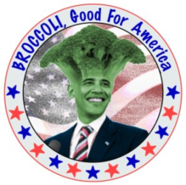 Baroccoli Obama: Some have questioned whether Obama was really telling the truth when he said broccoli was his favorite thing to eat