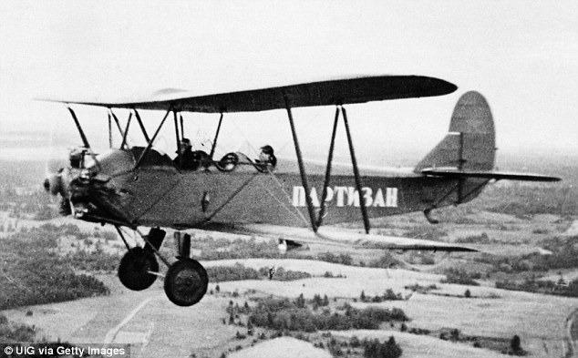 Obsolete: The Night Witches flew ancient Polikarpov po-2 bi-planes that were equipped with no guns or parachutes and were only able to carry two bombs