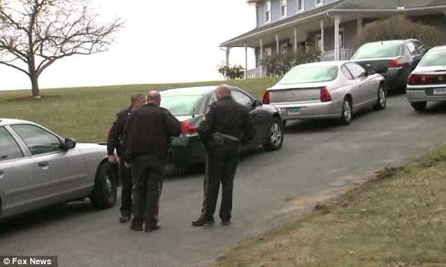 High alert: Police and residents of Suffield were on high alert believing a sex predator was in the area