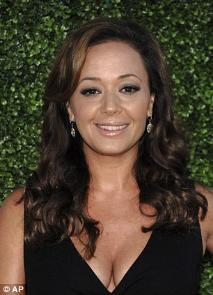 Break: Leah Remini, pictured, has released a statement seemingly confirming her break from the church