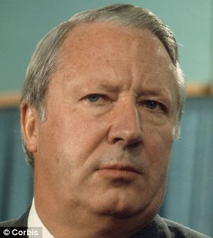 Experts said the UK dip could, in part be put down to Tory prime minister Edward Heath's policies