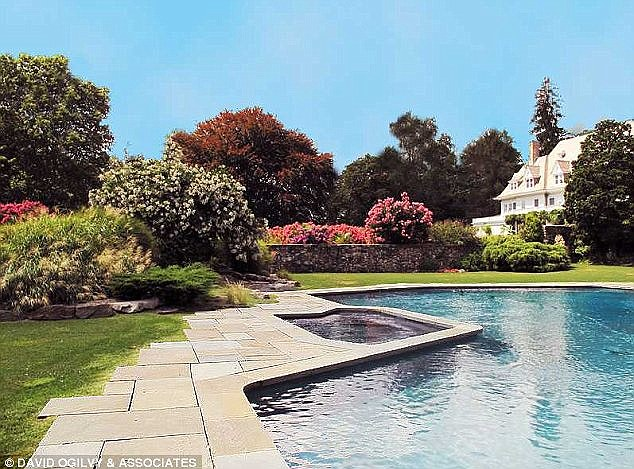 Luxury lifestyle: Other amenities include a heated pool, tennis court, solarium and a formal garden