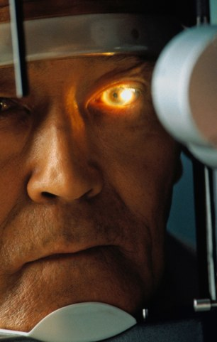 At risk: Thousands of elderly may lose their sight due to restrictions on cataract surgery