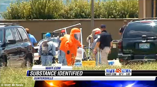 False alarm: A suspicious substance that prompted the evacuation of a northeastern Alabama post office last week was KY Intense Arousal gel