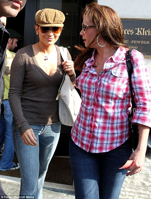 Support: Leah Remini has lost the support of her Scientology friends but Jennifer Lopez is said to be sticking by her