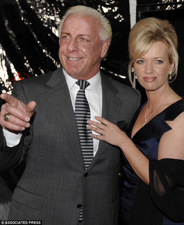 Woooooo! 'The Nature Boy' Rick Flair faces jail time if he doesn't cough up the $32,000 he owes his soon-to-be ex-wife