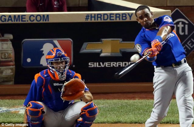 Yoenis Cespedes of the Oakland Athletics won the Chevrolet Home Run Derby on July 15 at Citi Field in New York City