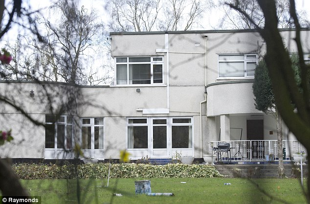 Demolished: This1930's house that is to be torn down and replaced with the 'Telletubbies' house