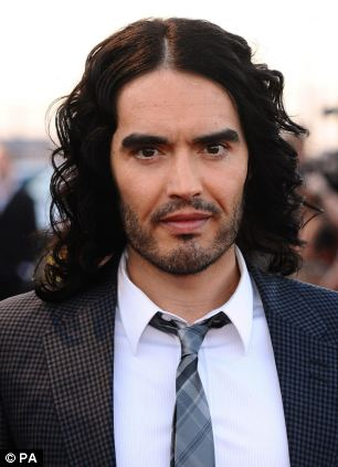 Many celebrities, including Russell Brand (pictured) have claimed to suffer from a sex addiction, however, new evidence suggests it does not actually exist