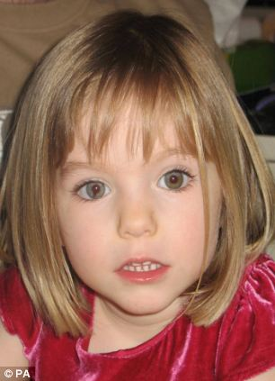 New leads: Scotland Yard detectives could travel to Portugal in the coming days to follow up on new leads in the case of missing Madeleine McCann (pictured)