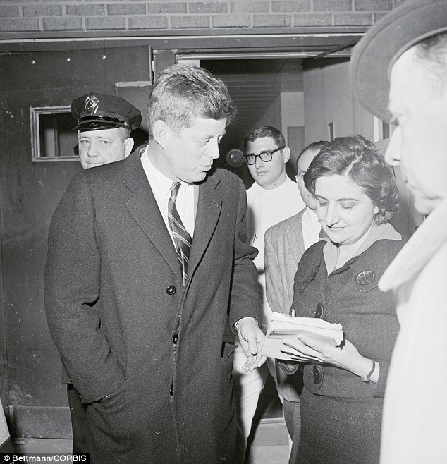 JFK: Thomas started covering the White House in 1960, the year John F. Kennedy was elected president