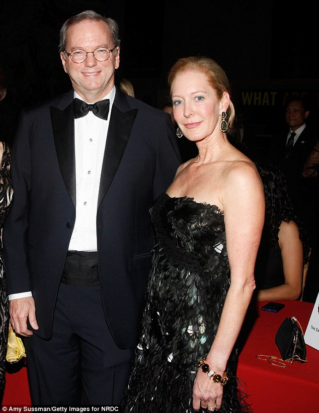 His wife Wendy Schmidt stays at home and concentrates on her philanthropy work. She is said to have accepted the unusual martial situation