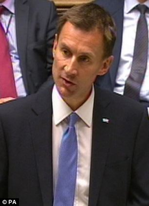 Hunt's Commons clash with Labour's health spokesman Andy Burnham was brutal