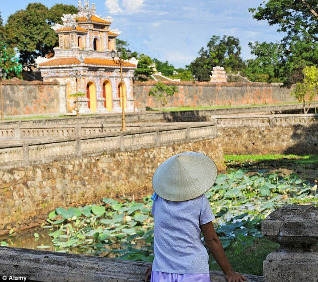 Outside the Citadel of Hue, Vietnam