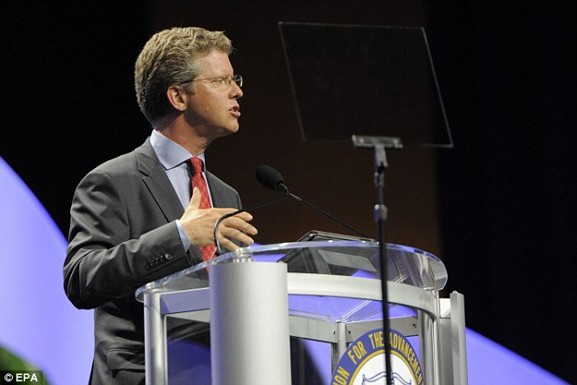 Big deal: Shaun Donovan, secretary of the U.S. Department of Housing and Urban Development. details the Fair Housing rule at a recent speech given to the NAACP