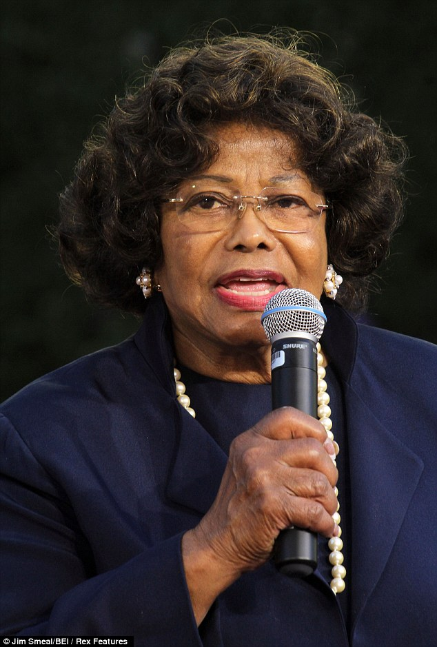 Visibly annoyed: Katherine Jackson grew annoyed while on the witness stand on Monday when questioned about her son Michael's drug dependency during his wrongful death trial